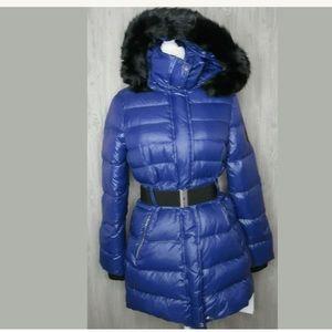 Ugg Valerie Belted Down Jacket Toscana Hood Coat